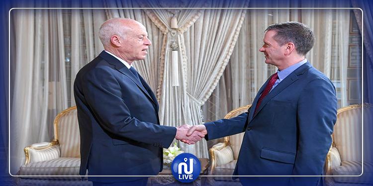 رئيس الجمهورية يلتقي مدير الوكالة الأمريكية للتنمية الدولية ''USAID''