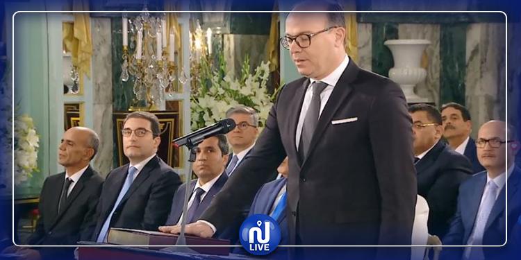حكومة الفخفاخ تؤدي اليمين الدستورية (فيديو)