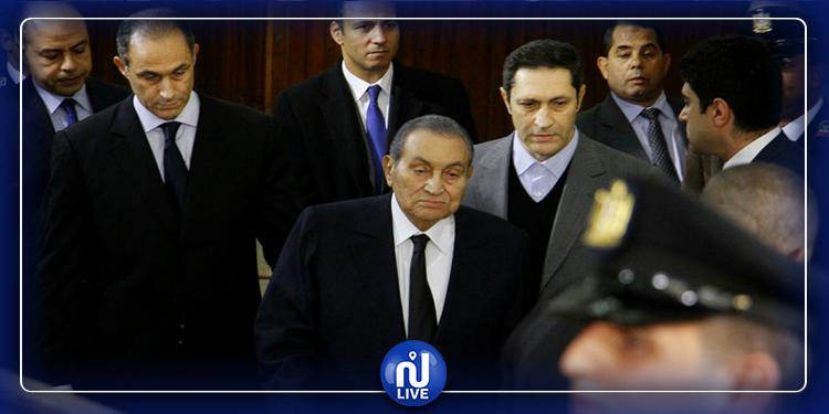 تبرئة نجلي حسني مباركمن قضية ''التلاعب بالبورصة''