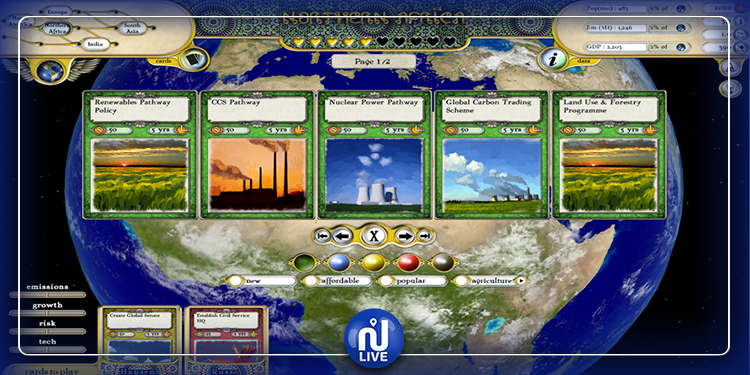 Changement climatique: des solutions à travers un jeu vidéo lancé par l'ONU