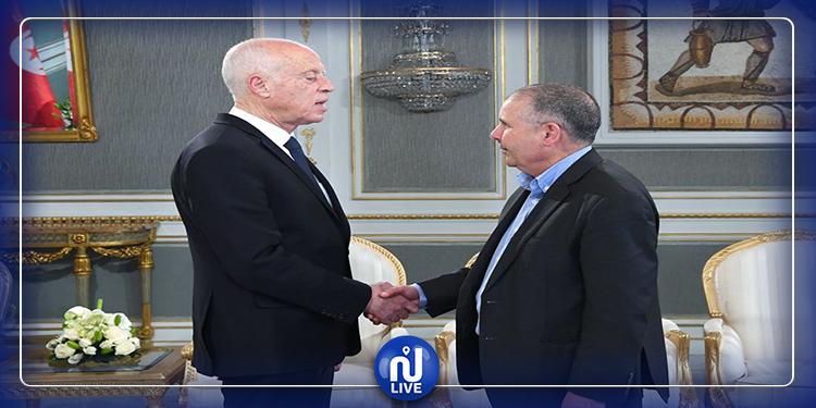 رئيس الجمهورية يلتقي نور الدين الطبوبي