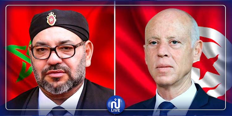 فحوى مكالمة هاتفية بين رئيس الجمهورية والعاهل المغربي