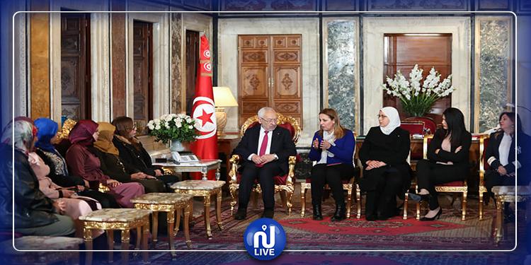 نساءالبرلمان  يرفضن التجاوزات الصادرة عن عبير موسي