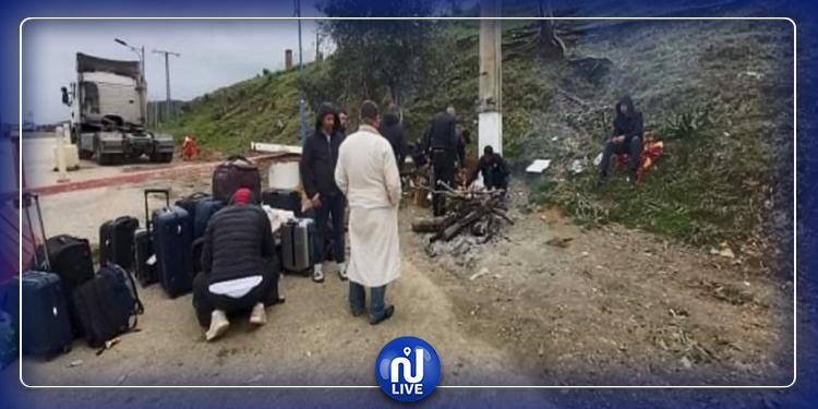 45 تونسيا علقوا بالجزائر يوجهون نداء استغاثة