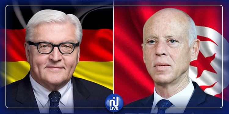 الرئيس الألماني يدعم  المبادرة التونسية لمجابهة فيروس كورونا