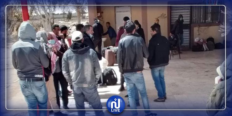 Tozeur-Covid19 : Rapatriement de 60 Tunisiens bloqués en Algérie