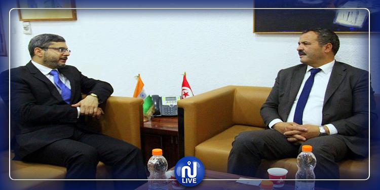 دعم التعاون في المجال الصحي محور لقاء وزير الصحة بسفير الهند بتونس