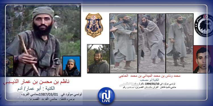 هوية العنصرين الإرهابية الذين تم القضاء عليهما في جبل السلوم (صور)
