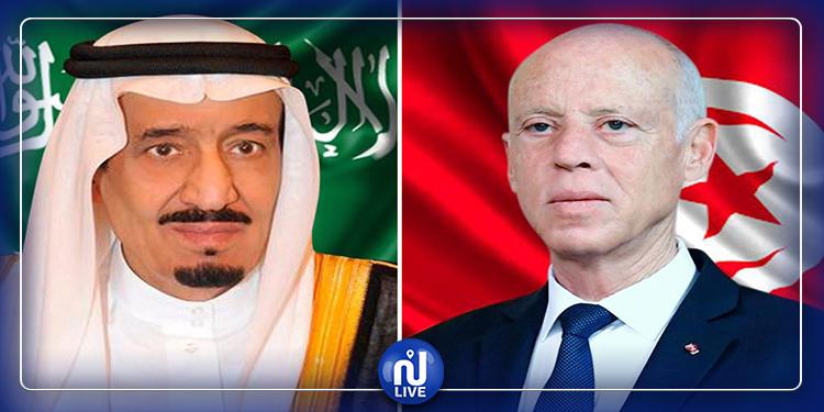 فحوى مكالمة هاتفية بين رئيس الجمهورية والعاهل السعودي