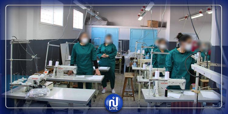 تقدم صناعة الكماكات من قبل المودعات بسجن النساء بمنوبة