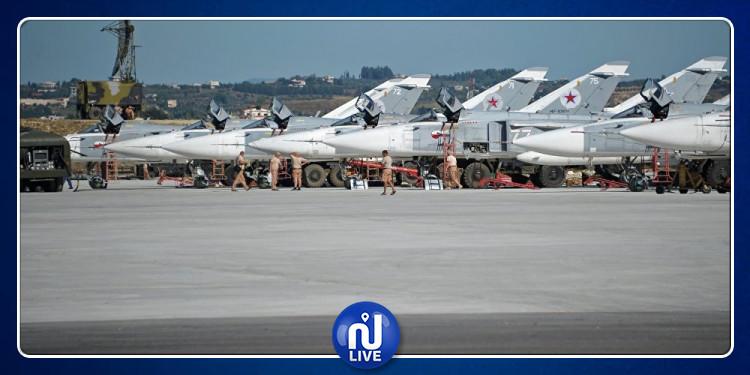 روسيا تعلن إحباط هجوم على قاعدتها الجوية الرئيسية بسوريا