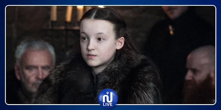 أصغر بطلة في لعبة العروش ممنوعة من مشاهدة السلسلة