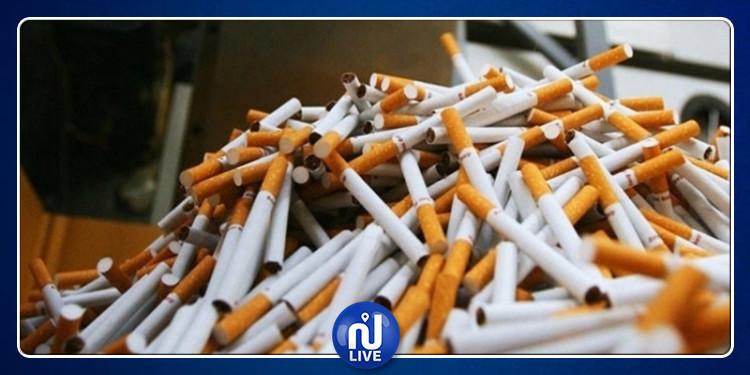 بنزرت: حجز 12 ألف علبة سجائر بأحد المنازل