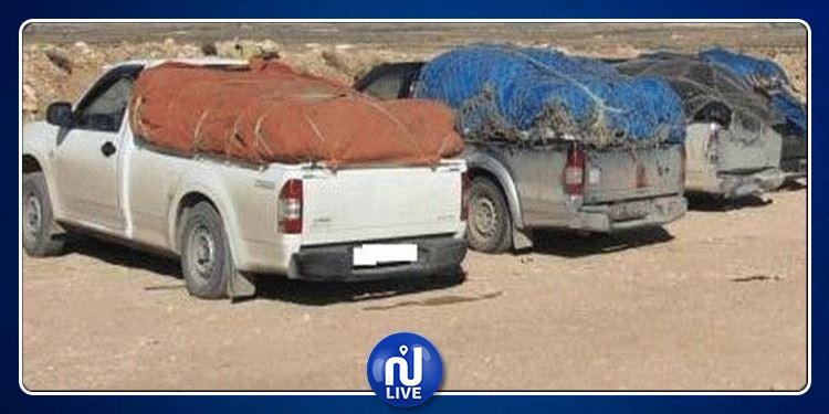 إحباط عمليات تهريب بضائع بقيمة مليون و495 ألف دينار