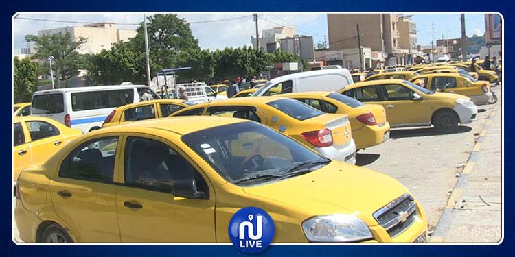 القصرين: أصحاب التاكسي الفردي يحتجون