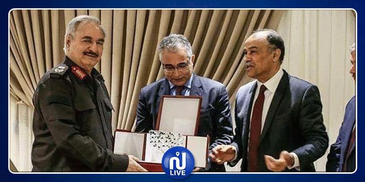 حسونة الناصفي: حركة مشروع تونس تساند خليفة حفتر