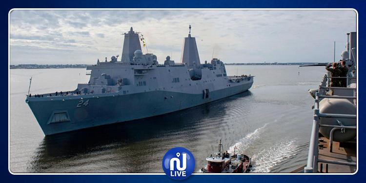 إيران تهدّد بإستهداف السفن الأمريكية بالخليج