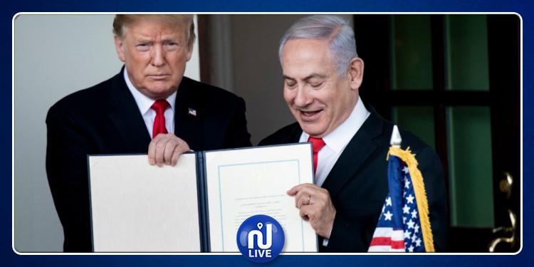 إسرائيل تشرع في بناء مستوطنة ''ترامب'' بالجولان المحتل