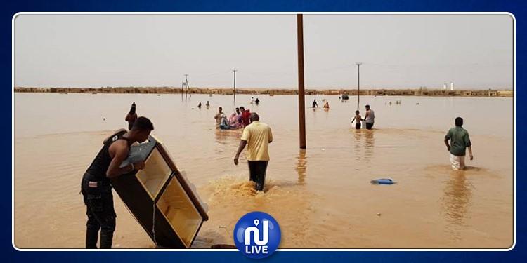 ليبيا: نزوح 4 آلاف شخص بسبب الفيضانات في غات