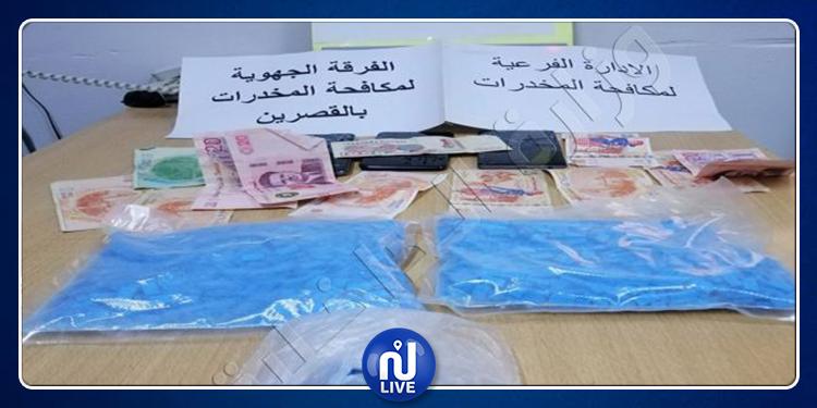 القصرين: حجز 2100 قرص مخدر و560 غراما من مخدر ''الزطلة''