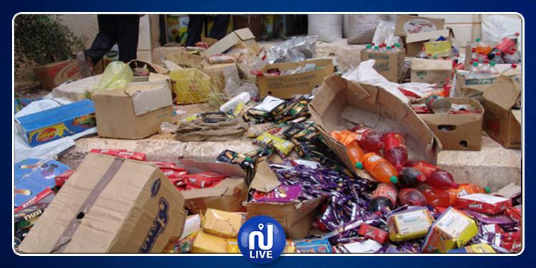 حجز أكثر من 66 طنا من المواد الغذائية غير الصالحة منذ بداية رمضان