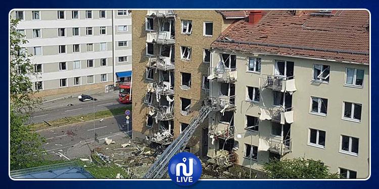 انفجار يستهدف مبنيين سكنيين جنوب السويد