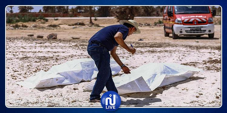 قابس: دفن 9 أفارقة من بين الغرقى ضحايا عملية هجرة سرّية بمقبرة ببوشمّة