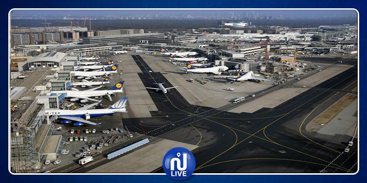 تأجيل الرحلات بمطار فرانكفورت بسبب قنبلة
