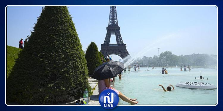 باريس: رفع درجات التحذير بسبب موجة الحر الشديدة