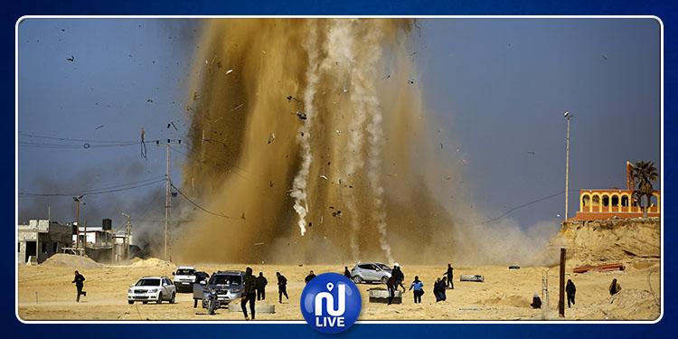 غزة: 97 جريحا في ''جمعة حرق العلم الإسرائيلي''