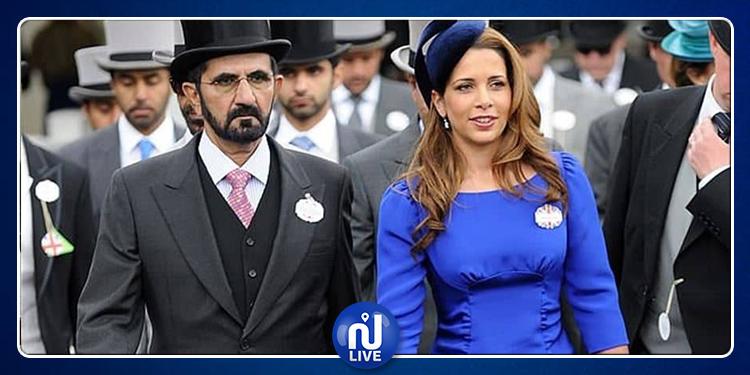 أول ظهور للأميرة الهاربة من زوجها حاكم دبي (صورة)