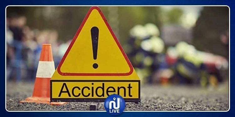 Mahdia : 1 mort et 2 blessés dans un accident de la route