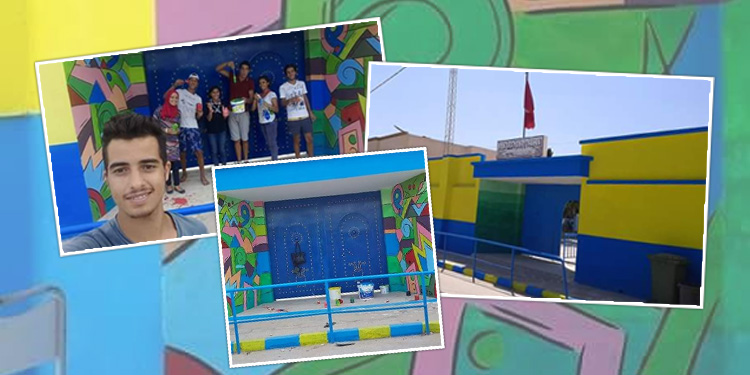 فوج بني خيار للكشافة التونسية يترك بصمته في المدرسة الابتدائية فرحات حشاد