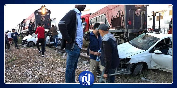 صفاقس: وفاة 3 أطفال في اصطدام بين سيارة وقطار والنيابة العمومية تتحرك
