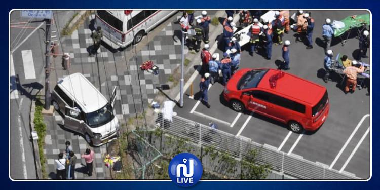 سيارة تدهس 13 طفلا في اليابان