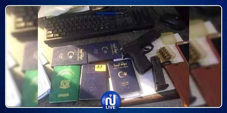 جربة: حجز مسدس و10 طلقات نارية