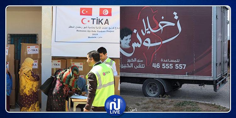 الحكومة تسمح لتركيا لتقديم الإعانات وتمنع خليل تونس من تنظيم موائد الإفطار وتوزيع المساعدات