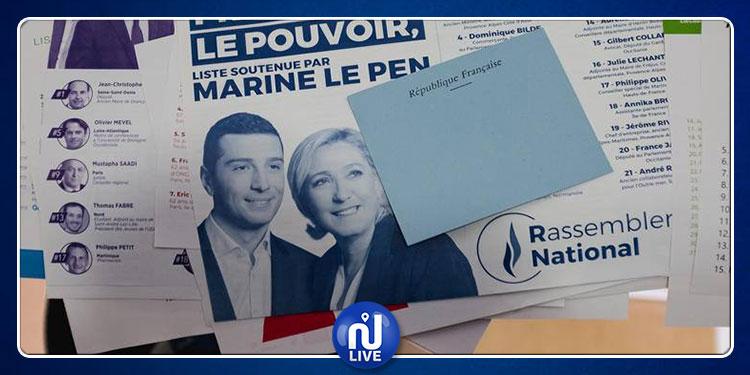 Marine Le Pen en tête du scrutin européen…