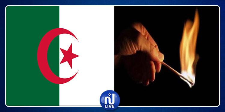 تبسّة الجزائرية: مواطن تونسي يحاول الإنتحار حرقا أمام قنصلية تونس