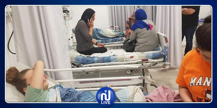 Ahed Tamimi blessée dans un accident de voiture