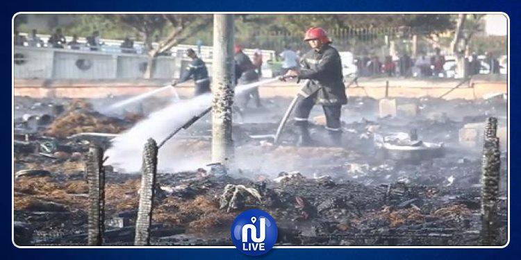 المغرب: حريق هائل بمخيم مهاجرين غير شرعيين