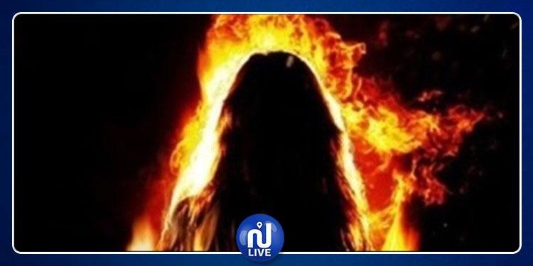 الرقاب: امرأة تضرم النار في جسدها داخل مدرسة ابتدائية