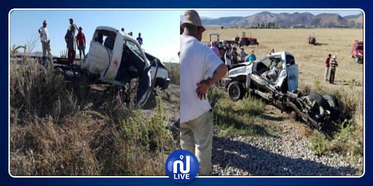 جندوبة: القطار يدهس شاحنة خفيفة ويقتل 3 شبان على عين المكان