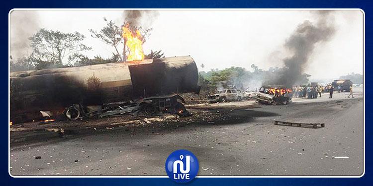 نيجيريا: مصرع 18 شخصا حرقا في حادث مرور مروّع