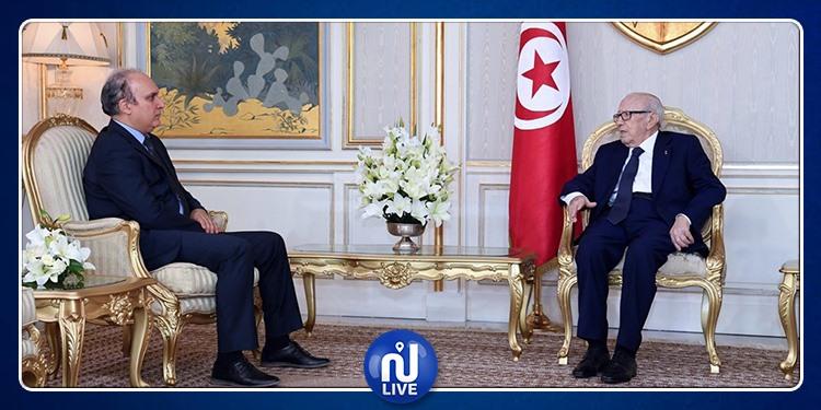 Caïd Essebsi s'entretient avec le président de l'ISIE