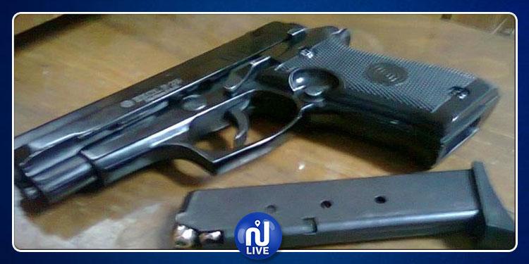 القصرين: سرقة مسدس  أمني من منزله وأعوان الحرس بالمرصاد