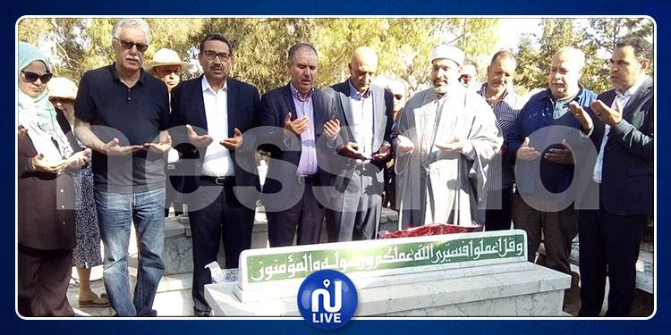 في ذكرى استشهاده: تلاوة الفاتحة على روح الشهيد محمد البراهمي بمقبرة الجلاز