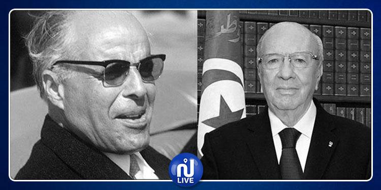 من هو السياسي العربي  الوحيد الذي شارك في تشييع جنازتي بورقيبة والسبسي؟ (صور)