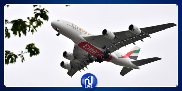 رحلة رعب على متن طائرة إماراتية (فيديو)