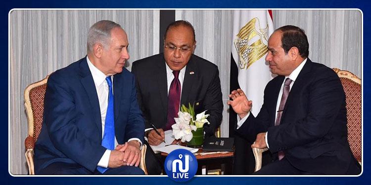 نتنياهو: أود الإشادة بذكاء وزعامة صديقي وزميلي عبد الفتاح السيسي